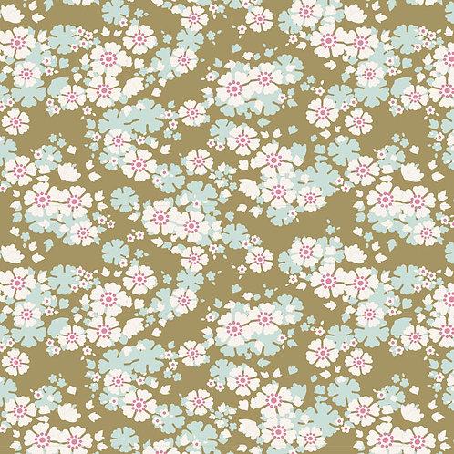 Tilda Woodland Fabrics - Aster Olive 297