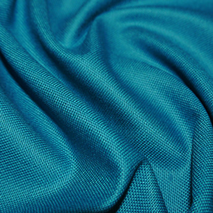 Cotton Canvas Upholstery Weight - Teal