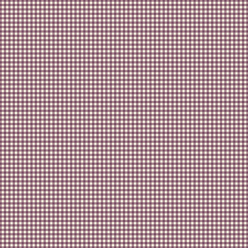 Renee Nanneman Andover Fabric French Chateau - Gingham Heather
