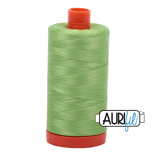 Aurifil  50wt Thread 1300m - Shining Green 5017