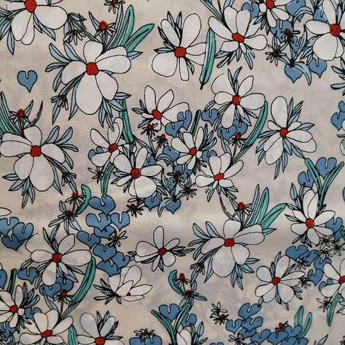 Sarah Watson Sweet Magnolia - Organic fabric by Cloud 9