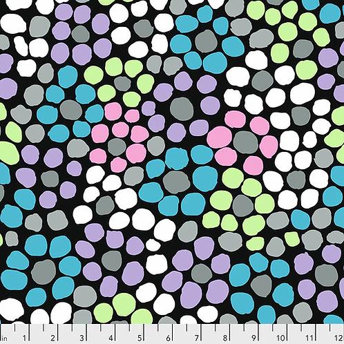 Kaffe Fassett Collective Fabric - Flower Dot Stone