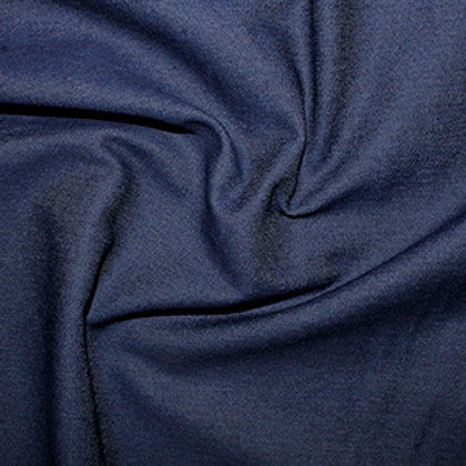 Slight Stretch Denim Fabric - Dark Blue