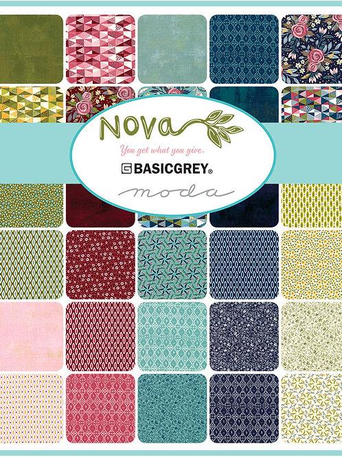 Nova by Basicgrey for Moda Fabrics Jelly Roll