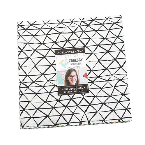 Zoology by Gingiber for Moda - Layer Cake precut fabric