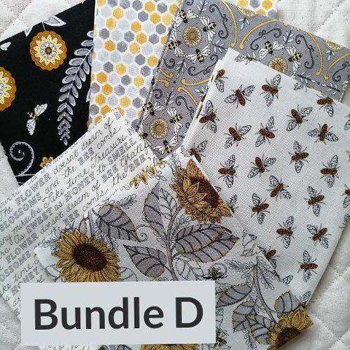Bee Grateful by Deb Strain for Moda Fabrics - fat quarter bundle D