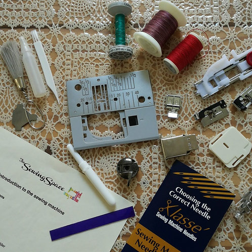 Introduction to the Sewing Machine class August 2021