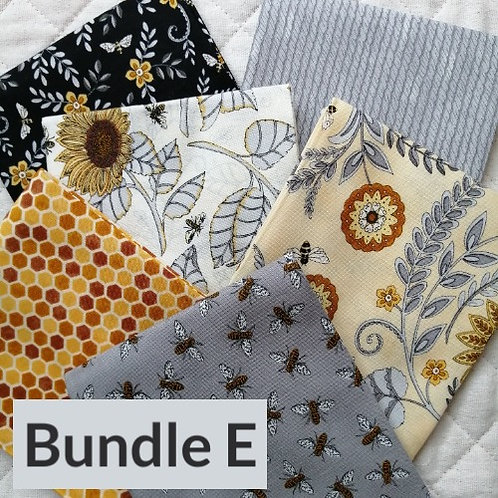 Bee Grateful by Deb Strain for Moda Fabrics - fat quarter bundle E