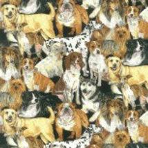 Nutex Fabric - Doggie Delights