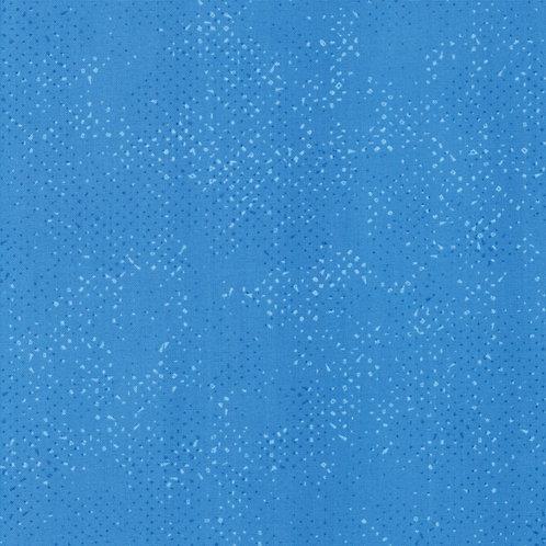 Spotted by Zen Chic for Moda Fabric - Cornflower 75 blender print