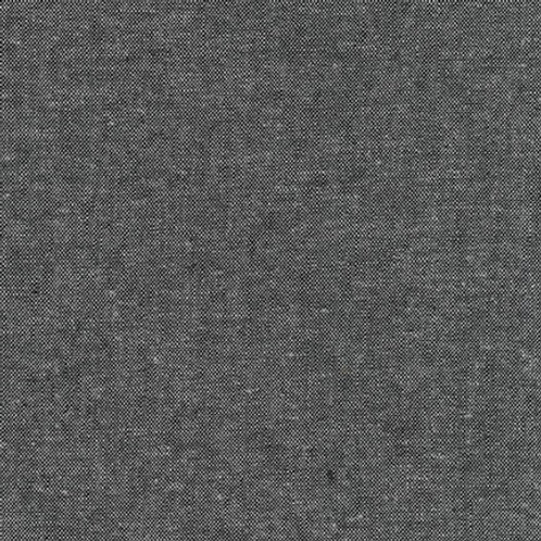 Robert Kaufman Essex Linen Charcoal