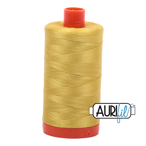 Aurifil  50wt Thread 1300m - Gold Yellow 5015