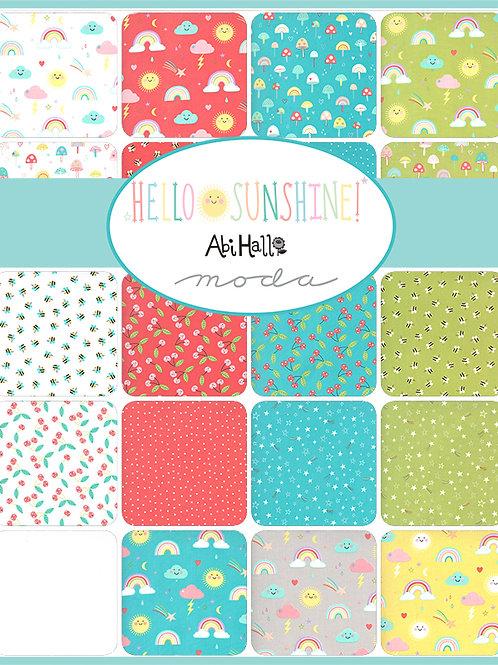 Hello Sunshine by Abi Hall for Moda Fabrics  - Charm Pack