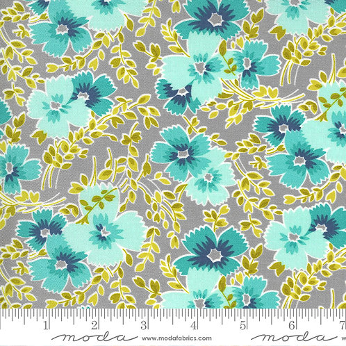 Flowers for Freya by Linzee McCray for Moda fabrics - foggy 3112