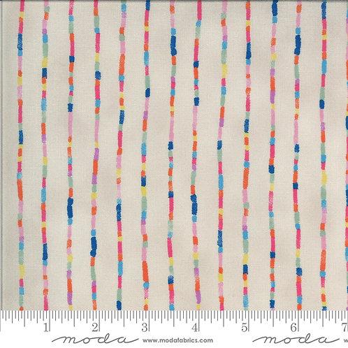 Lulu by Chez Moi for Moda fabrics - 8616 Linen bright blender modern quilting