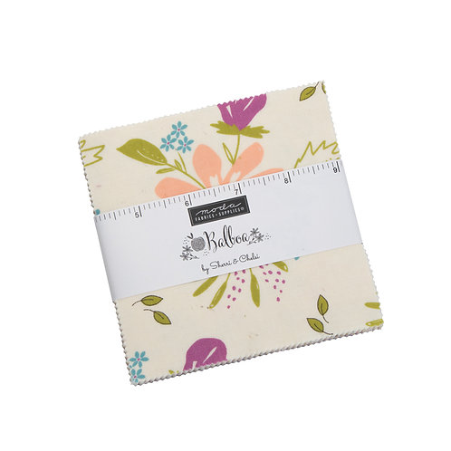 Balboa for Moda Fabrics  - Charm Pack squares