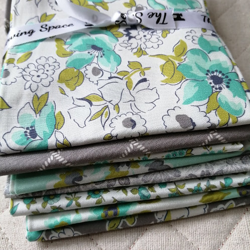 Flour Garden for Moda Fabrics - fat quarter patchwork bundle light option