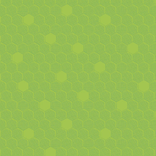 Great British Quilters Fabric - Chartreuse