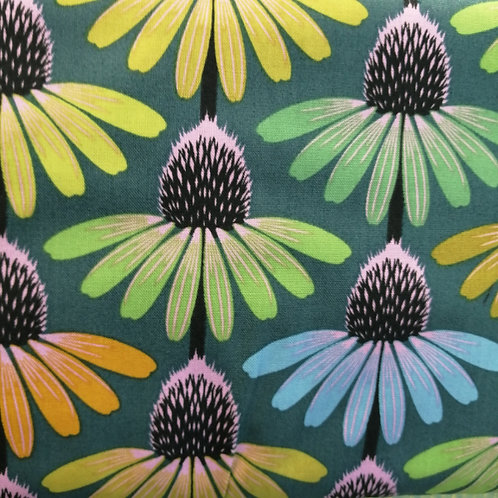 Anna Maria Hindsight Fabric - Echinacea Glow