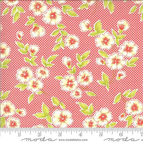 Figs and Shirtings - Moda Fabrics - Barn Red 9013 30's print