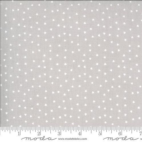 Hello Sunshine by Abi Hall - Moda Fabrics - Hearts on gray