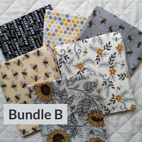 Bee Grateful by Deb Strain for Moda Fabrics - fat quarter bundle B