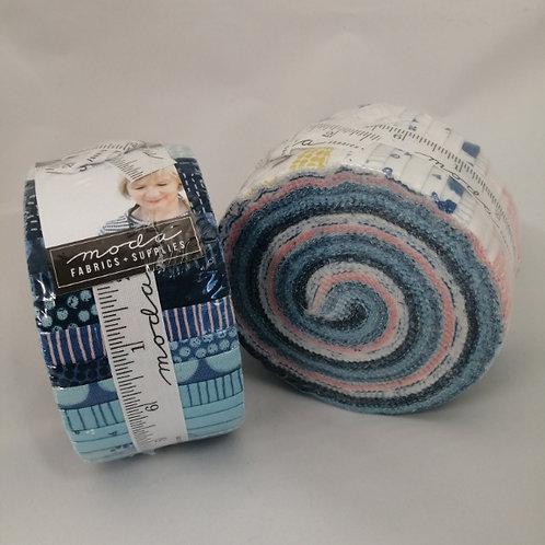Breeze by Zen Chic for Moda Fabrics Jelly Roll strips