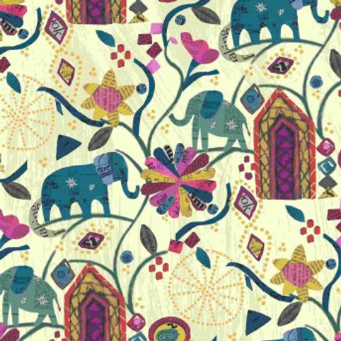 Windham Fabrics  - Carrie Bloomston Wish Elephant