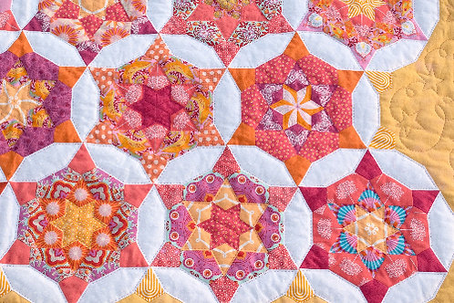 English Paper Piecing Class with Nancy Adamek 10am - 4pm Sept 24th