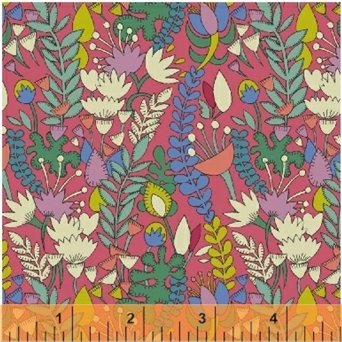 Fantasy by Sally Kelly for Windham fabric - Pink