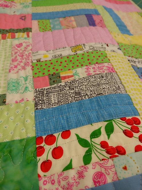 Improvisational patchwork class Mandy Munroe Hythe Kent October 2021
