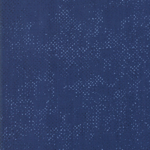 Spotted by Zen Chic for Moda Fabric - Nautical Blue 74