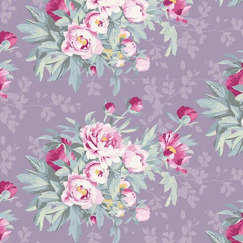 Tilda Woodland Fabrics - Hazel Lavender 289
