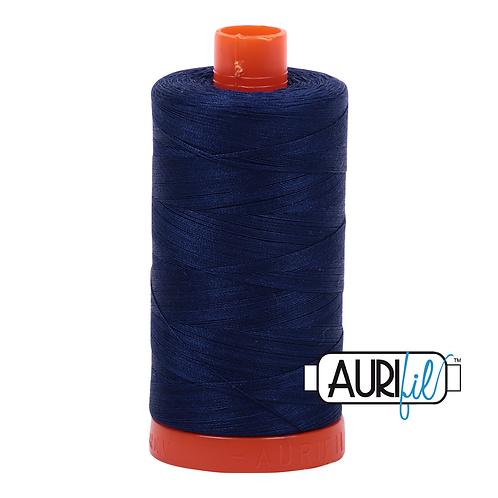 Aurifil  50wt Thread 1300m - Dark Navy 2784