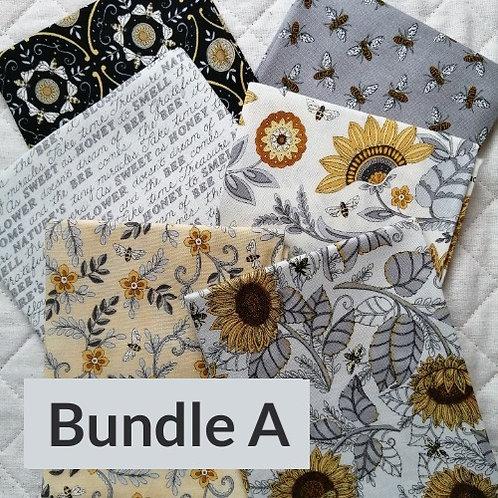 Bee Grateful by Deb Strain for Moda Fabrics - fat quarter bundle A