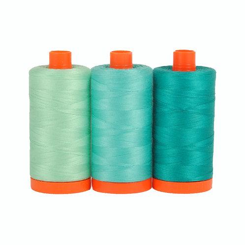 Aurifil Colour Builder Thread - Capri