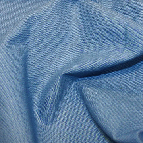 Cotton Canvas Upholstery Weight - Delph Blue