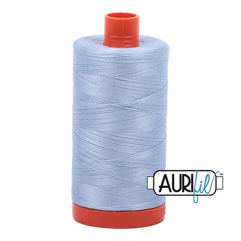 Aurifil  50wt Thread 1300m -Light Robins Egg 2710