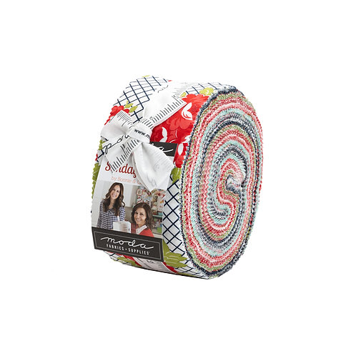 Sunday Stroll by Bonnie and Camille for Moda Fabrics - Jelly Roll