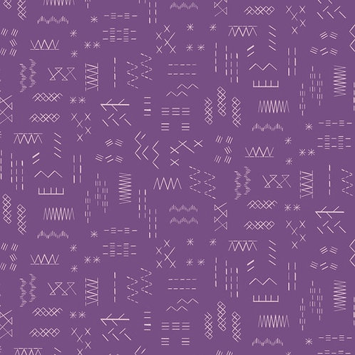 Great British Quilters Fabric - Violet