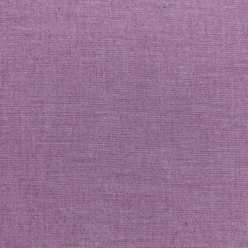 Tilda Chambray Fabrics - Plum