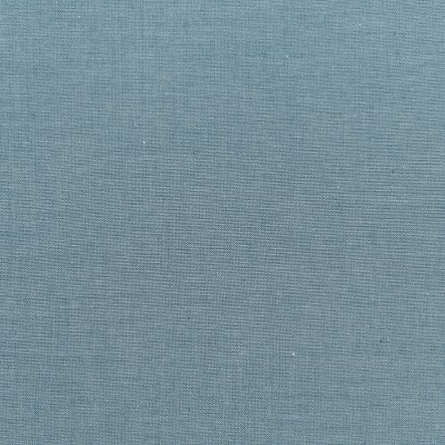Tilda Chambray Fabrics - Petrol