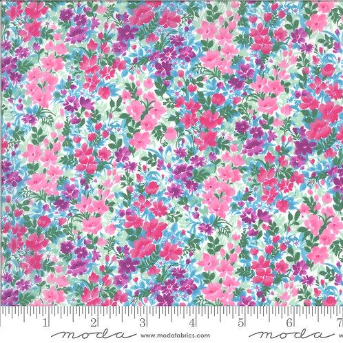 Regent Street Lawn by Moda Fabrics - 3475-14 floral lilac pink