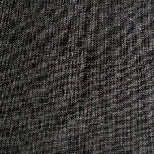 Makower UK - cotton linen blend - black