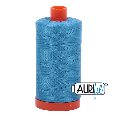 Aurifil  50wt Thread 1300m - Bright Teal 1320