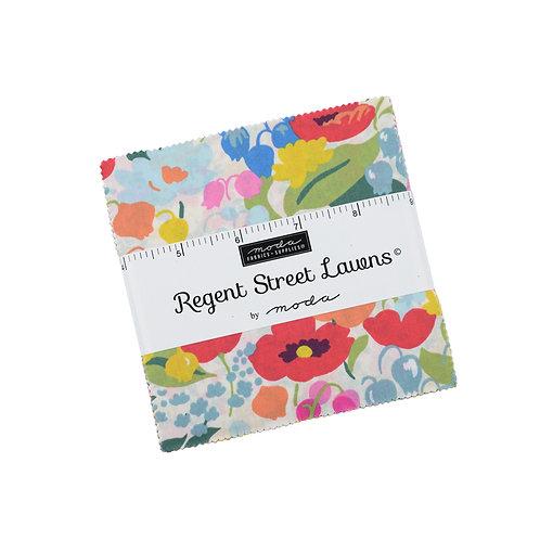 Regent Street Lawns by Moda Fabrics Charm Pack
