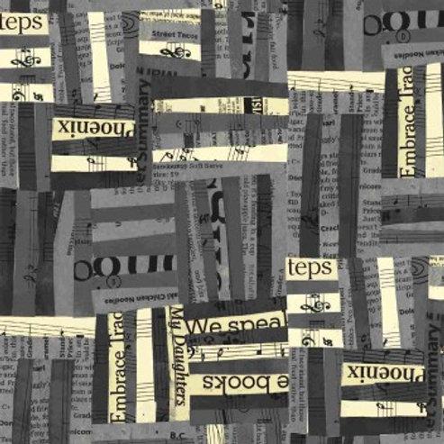 Windham Fabrics  - Carrie Bloomston Newsprint