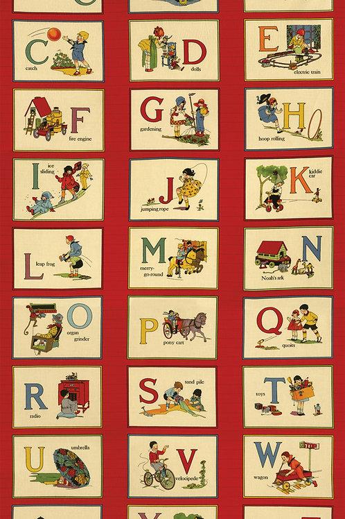 It's Elementary Alphabet Panel by American Jane