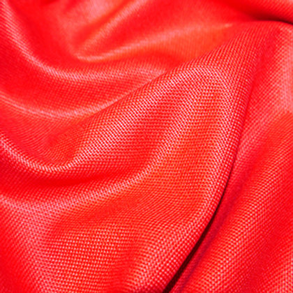 Cotton Canvas Upholstery Weight - Red