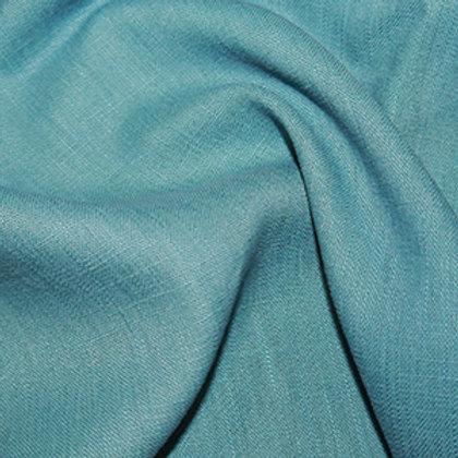 """Enzyme Washed Dressmaking Linen - Teal 54"""""""